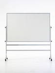 Contemporary Reversible Markerboard with Powder Coated Frame [RS-46C-MSH]