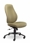 Contour II 400 Series High Back Multiple Shift Adjustable Swivel and Seat Height Task Chair [CO310-Q30-FS-SEA]