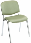 Active 21'' W x 23'' D x 30.25'' H Plus Armless Stack Chair with Upholstered Seat and Back - Set of Four [SS-19450-EOF]