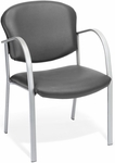 Danbelle Anti-Microbial and Anti-Bacterial Vinyl Contract Reception Chair - Charcoal [414-VAM-604-FS-MFO]