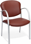 Danbelle Anti-Microbial and Anti-Bacterial Vinyl Contract Reception Chair - Wine [414-VAM-603-FS-MFO]