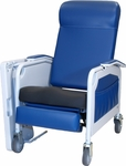 Convalescent Recliner with Saddle Seat - 3 Position [525S-FS-WIN]