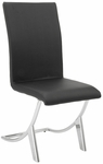 Cordelia Side Chair in Black - Set of 4 [80950BLK-FS-ERS]