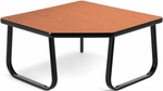 Corner Table with Sled Base - Cherry [TABLE3030-CHY-FS-MFO]