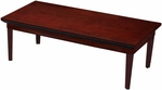 Corsica 48'' W x 24'' D x 16'' H Coffee Table - Sierra Cherry Finish on Cherry Veneer [CTRCRY-FS-MAY]