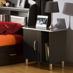 Cosmos Collection Night Stand in Black [3127063-FS-SS]