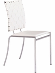 Criss Cross Dining Chair in White [333011-FS-ZUO]