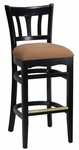 Curved Ladder Back Barstool [8270B-HND]