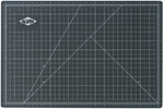 Reversible Black and Green Vinyl Cutting Mat - 48''W x 96''D [GBM4896-FS-ALV]