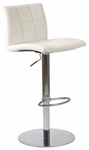 Cyd Bar/Counter Stool in White [17180WHT-FS-ERS]