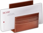 Rustic Leather Letter Holder - Brown [A3208-FS-DAC]
