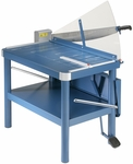 DAHLE Premium Large-Format Guillotine Paper Cutter with Stand, 32'' Cut Length [580-FS-DHL]