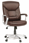 Gruga Deluxe Leather Executive Chair - Brown [412075-FS-SRTA]