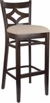 Diamond Back Bar Stool in Walnut Wood Finish [HTG-002-42-WNT-HC]