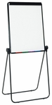 Docu-Point Height Adjustable Easel with Presentation Board and Storage Tray - Black [13150-FS-SDI]