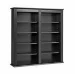 Double Wall Mounted Storage with 8 Adjustable Shelves [BFW-0349-FS-PP]