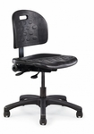 Dove 325 lb Weight Capacity Lab Chair - Urethane [16030-PY-FS-ALL]