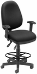 Computer Task Chair with Drafting Kit - Black [122-DK-805-FS-MFO]