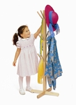 Maple Dress Up Tree with 12 Strong Clothing Storage Pegs [WB0113-FS-WBR]
