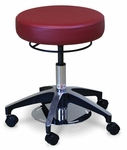 Dual Foot & Hand Operated Stool - 19'' - 24''H [HAU-2154-FS-HAUS]