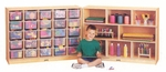 E-Z Glide Fold-n-Lock Storage Unit - 25 Cubbies [42710JC-JON]