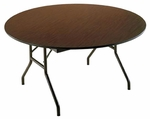 Customizable Economy 130 Series Round Fixed Height Table - 48''Dia. x 29''H [131-P-BKS]