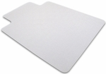 48''W x 51''L Ecotex 100% Recycled Chairmat with Lip for Hard Floors [ECO4851LP-FS-FTX]