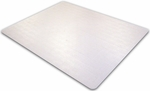 36''W x 48''L Ecotex Enhanced Polymer Rectangular Shaped Chairmat for Standard Pile Carpets [ECO113648EP-FS-FTX]