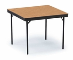 EF Series Game Solid Plywood Core Folding Table - 30''W x 30''L x 30''H [SQ30EF-MFT]