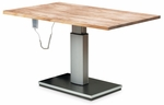 Electric Butcher Block Work Table - 48''W X 66''L X 28 - 44''H [HAU-4382-FS-HAUS]