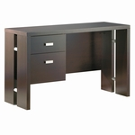 Element Collection Contemporary Chocolate Office Desk [7219711-FS-SS]