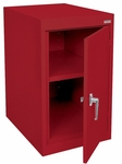 Elite Series 18'' W x 24'' D x 30'' H Desk Height Cabinets with Adjustable Shelf - Red [EA11-182430-01-EEL]