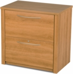 Embassy 30'' Lateral File with 2 Locking Drawers - Cappuccino Cherry [60630-3168-FS-BS]