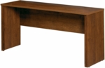 Embassy Credenza with PVC Edge and Wire Management - Tuscany Brown [60612-1163-FS-BS]