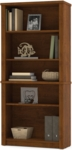Embassy Modular 5 Shelf Bookcase with Adjustable Shelving - Tuscany Brown [60700-3163-FS-BS]