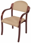 England Stacking Chair with Arms - Grade 1 [ENGLAND-STACKING-CHAIR-GR1-FS-HSAG]