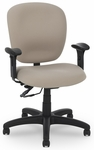 Urban Medium Back Task Chair with Two-Paddle Deluxe Control [PS-5852-2481XL-FS-EOF]