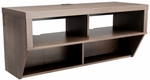 Series 9 Designer 42'' Wide Wall Mounted AV Console with 4 Open Storage Compartments - Espresso [ECAW-0507-1-FS-PP]