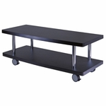 Evans TV Stand Curved Shelf [93147-FS-WWT]