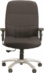 Excelsior350 High Back Executive Chair with Maximum 350 Lbs Weight Capacity - Black [BM9000-5806-FS-EURO]