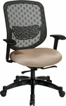 Space Executive DuraFlex Flow-Thru Technology™ Back with Seat Height Adjustment and Adjustable Arms [829-R2C728P-FS-OS]