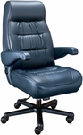 Explorer High Back Luxury Office Chair - Leathermate [OF-EXPL1PC-LLM-FS-ARE]