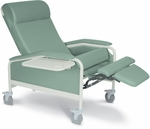 XL Clinical Recliner with Nylon Casters [6540-FS-WIN]