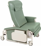 XL Drop Arm Care Recliner with Nylon Casters [6570-FS-WIN]