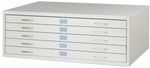 16.5'' H Medium Steel Facil Flat File - Light Gray [4972LG-SAF]