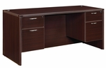 Fairplex Kneehole Credenza with .75 Peds 66'' W [7004-19Q-FS-DMI]