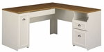Fairview L-Shaped Computer Desk - Maple [WC53230-03K-FS-BHF]