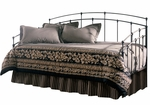 Fenton Metal Daybed with Link Spring and Trundle - Black Walnut [B41709-FS-FBG]