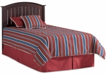 Finley Traditional Wood Headboard - Full or Queen - Merlot [51T549-FS-FBG]