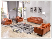 Flash Furniture Lesley Reception Series in Cognac